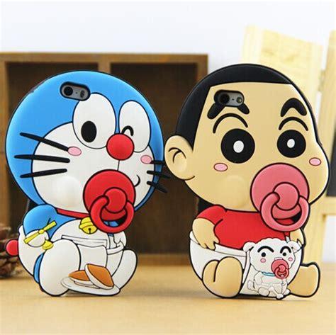 cat doraemon 3d pacifier phone soft