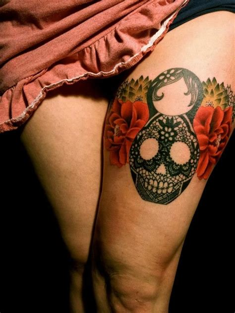 40 sugar skull tattoo meaning amp designs