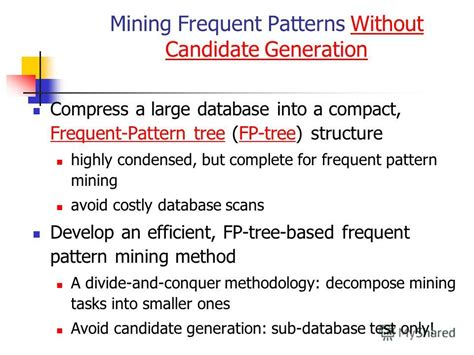 frequent pattern mining meaning презентация на тему quot mining association rules part ii