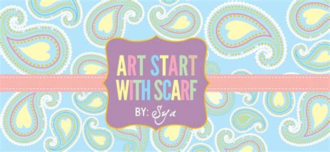 art startup art start with scarf