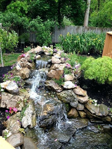 waterfalls for garden ponds uk waterfalls for small garden ponds healthy blue water can be