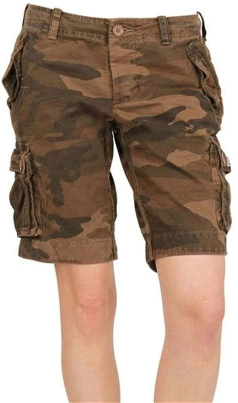 Cargo Us Army Levi S Uniqlo Calvin Klein Alpha Adidas Jacket superdry cotton cargo shorts in green camouflage lyst