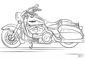 harley davidson coloring pages harley davidson road king coloring page free printable