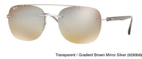 Frameless Transparent Sunglasses Brown buy ban rb4280 rimless frameless prescription sunglasses