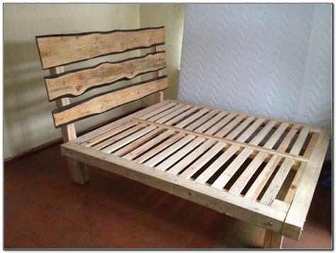 wooden box bed frame plans diy blueprints box bed frame