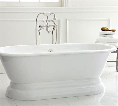 porcelain bathtub porcelain pedestal bathtub pottery barn