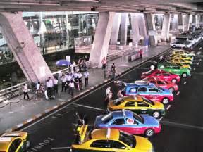Suvarnabhumi airport bangkok computerised taxi rank koh samui