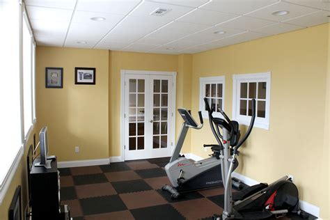 your basement exercise workout room and basement air