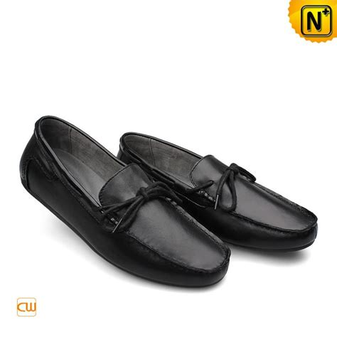 black leather loafer shoes mens leather moccasin loafer shoes cw740329