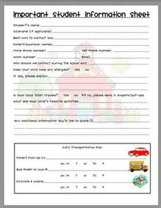 information sheet creating teaching