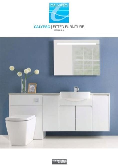 calypso bathroom furniture calypso fitted bathroom furniture brochure