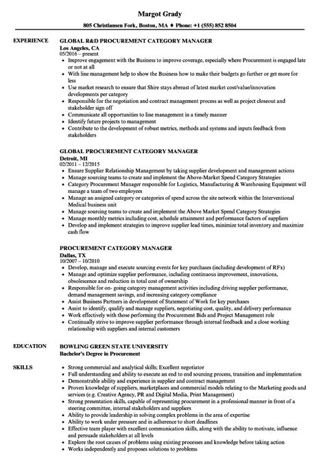 purchasing manager page1 business resume samples pinterest