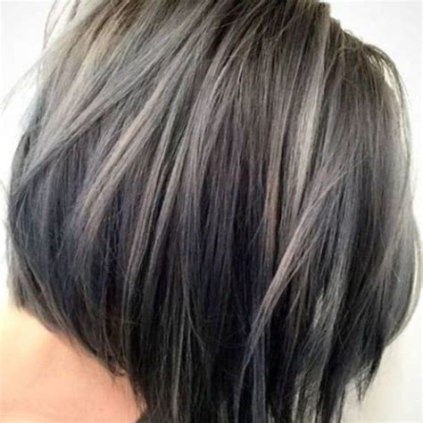 lowlights in grey hair lowlights highlights gray hair hair colour your reference