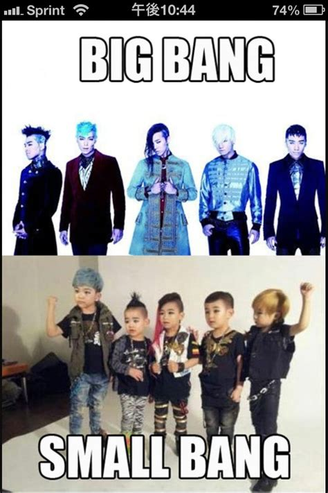Big Bang Meme - big bang kpop macro big bang without the theory