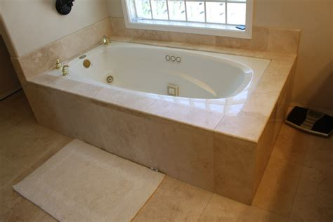 installing a bathtub and surround bathroom tile tub roman s marble granite tile