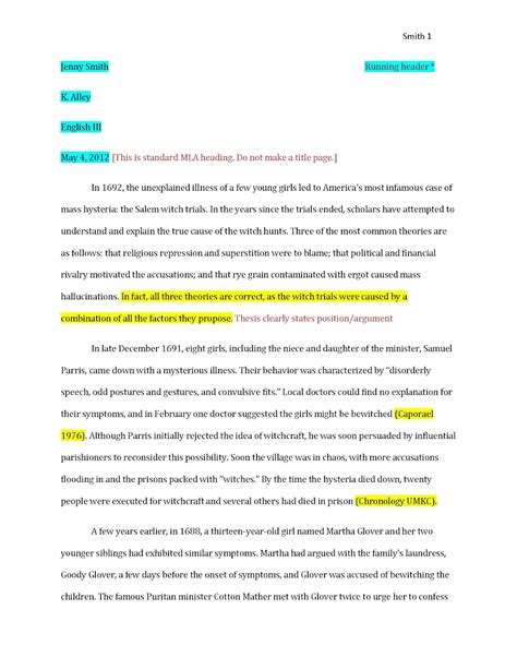 Cite Research Paper Exle alley april 2012