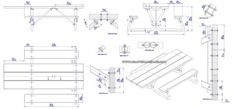 picnic bench dimensions picnic table dimensions