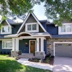 Blue Craftsman House 1000 Images About Contemporary Craftsman On Pinterest