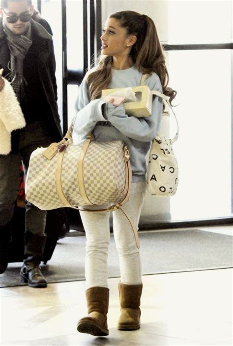 what to wear ariana grande ariana grande traveling wear should always be comfy and