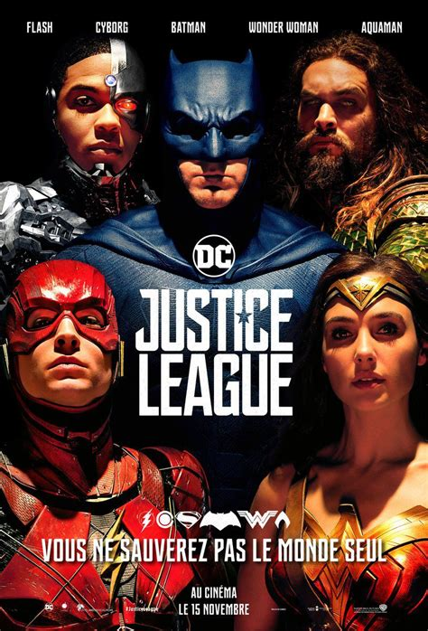 justice league film photo affiches posters et images de justice league 2017