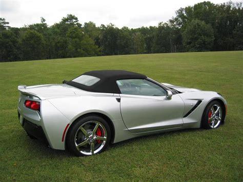 silver c7 corvette 2014 chevrolet corvette c7 3lt convertible in blade silver