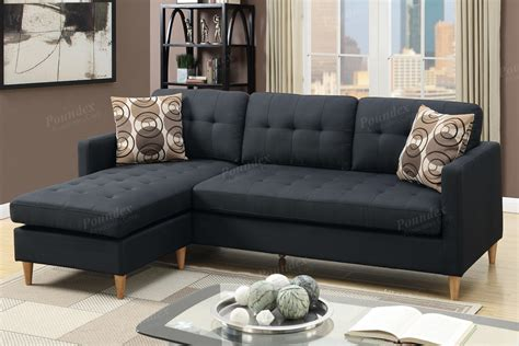 Black Fabric Sectional Sofa With Chaise Black Fabric Sectional Sofa A Sofa Furniture Outlet Los Angeles Ca