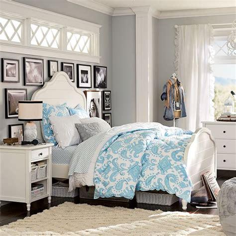 pbteen bedroom genevieve bed pbteen