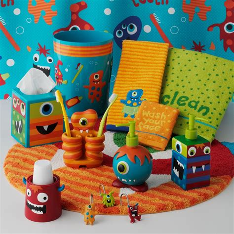 boys bathroom accessories erin b dewalt monsters in the bathroom