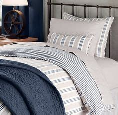 blue ticking comforter stripes on pinterest ticking stripe toast and bed linens