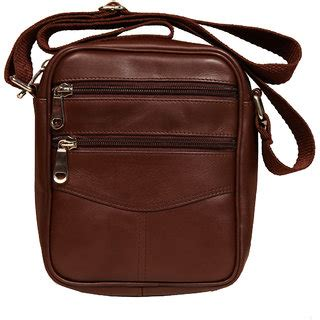 Small Leather Sling Bag buy leather world brown color genuine leather sling