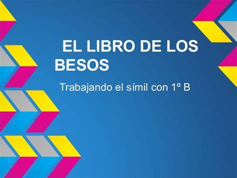 libro los besos en el el libro de los besos de 1 186 b