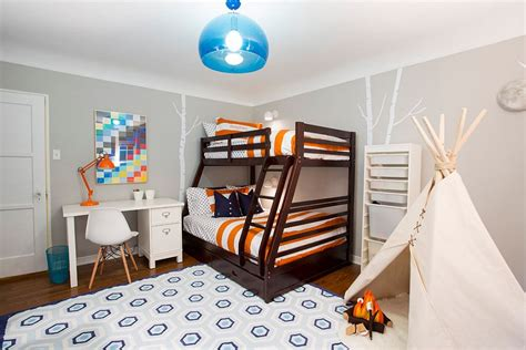 25 cool kids bedrooms that charm with gorgeous gray blue and grey boys bedroom www imgkid com the image