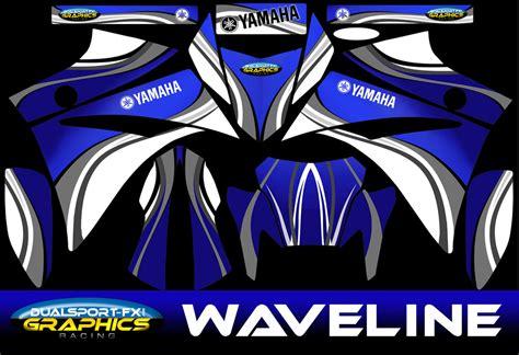 Yamaha Xt 660 X Aufkleber by Yamaha Xt 660 X R Waveline Compl Dekorsatz Stickers