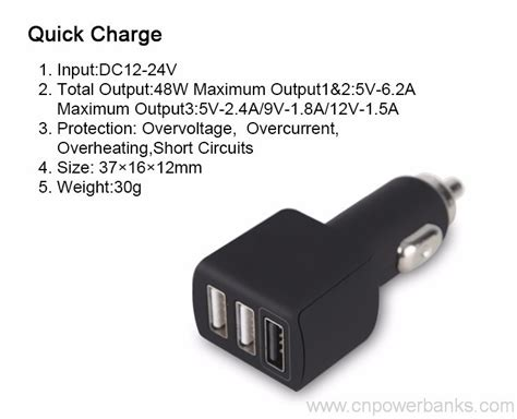 apple quick charge qualcomm quick charge 3 0 usb car charger with smart ic in