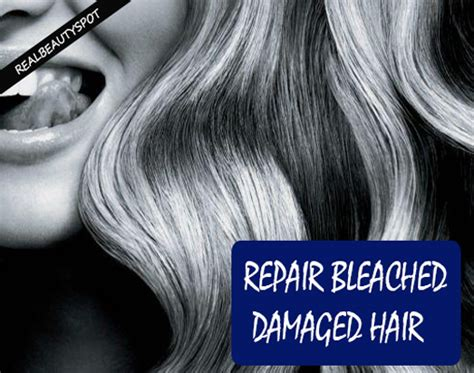 best bleached hair treatment natural treatments to repair bleached damaged hair