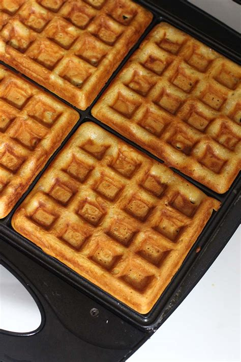 Waffles In The Toaster freezer to toaster waffle recipe new leaf wellness