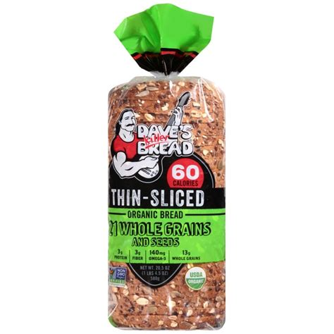 21 whole grains bread dave s killer bread thin sliced 21 whole grains and seeds