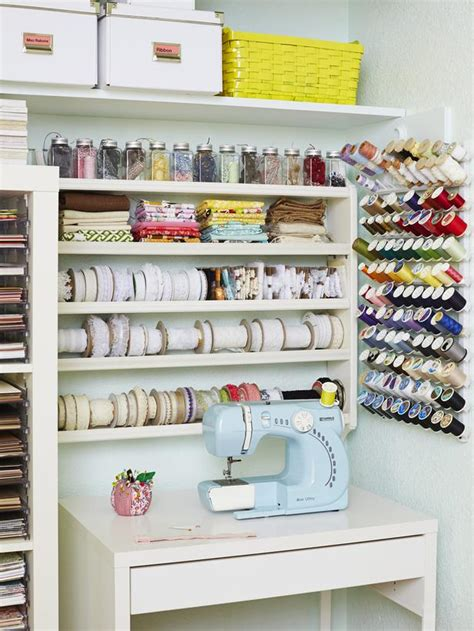 storage solutions for craft rooms 12 creative craft or sewing room storage solutions craft