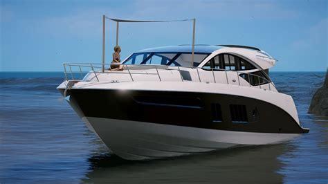 mini yacht boat new mini yacht gta 5 mods youtube
