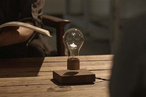 levitating bulb wordlesstech flyte levitating hovering light