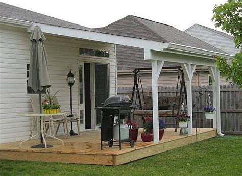 How To Build A Awning Over A Door Outdoor Living