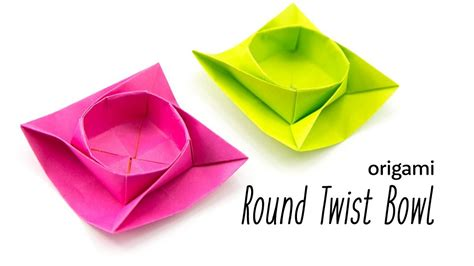 Twist Box Origami - origami how to make paper origami butterfly easy step by
