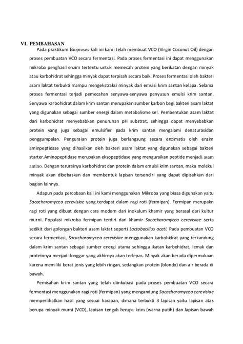 Minyak Kelapa Murni Vco V Co Coconut Asli 1000 Ml 1 L laporan pembuatandan analisa vco