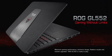 Laptop Asus Rog Gl552jx asus rog gl552jx review worthy rog laptop