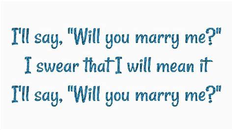 jason derulo marry me lyrics marry me by jason derulo lyrics youtube