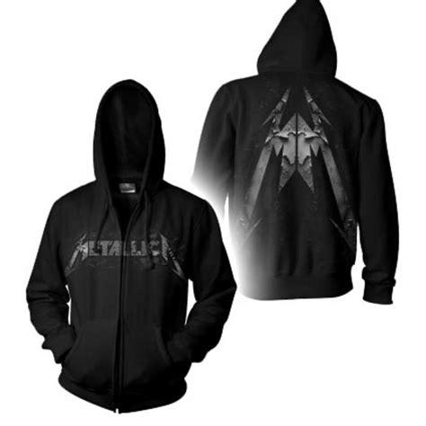 Hoodie Zipper Metalica Cloth official metallica hoody hoodie corrosive black zip all sizes