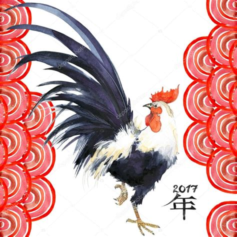 new year animals rooster coq 233 e du coq nouvel an chinois du coq illustration