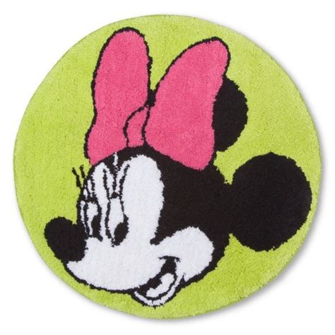 minnie mouse bedroom rug target disney 174 minnie mouse bath rug multicolor 20x28 quot target