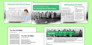 the christmas truceeducation resources the christmas truce an introduction to war poetry lesson pack