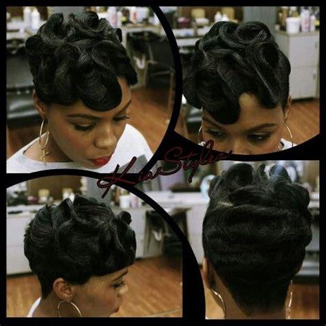 dry waves on black hair dry waves short black hair pinterest waves